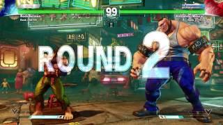 Street fighter 5 -Testando o monstro do Abigail