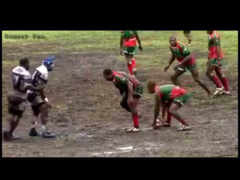 Hard Hitting Domestic PNG Rugby League (Rugby League Biggest hits)