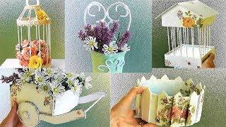 5 идей Декоративных поделок своими руками из простых материалов