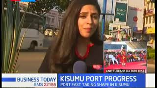 Kisumu Port: Port fast taking shape in Kisumu