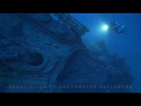 DIVING THE HMHS BRITANNIC - SISTER SHIP OF RMS TITANIC