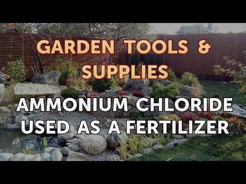 Ammonium Chloride Used As A Fertilizer