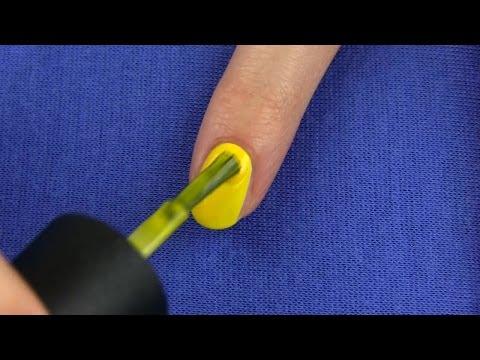 Nail Art Designs Without Any Nail Art Tools