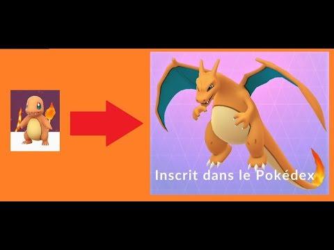 évolution De Salamèche En Dracaufeu Pokémon Go 5