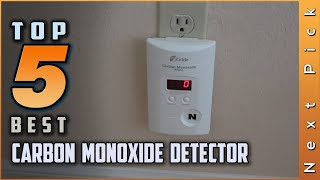 Top 5 Best Carbon Monoxide Detector Review in 2021