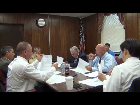 Jackson County Commission Work Session 7-18-16