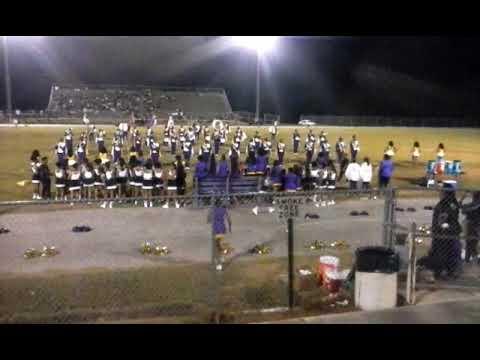 Booker T. Washington vs Bullock County High School Marching Band Halftime (2019)