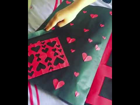 Diy Birthday Card Ideas With Simple Red And Black Color Youtube