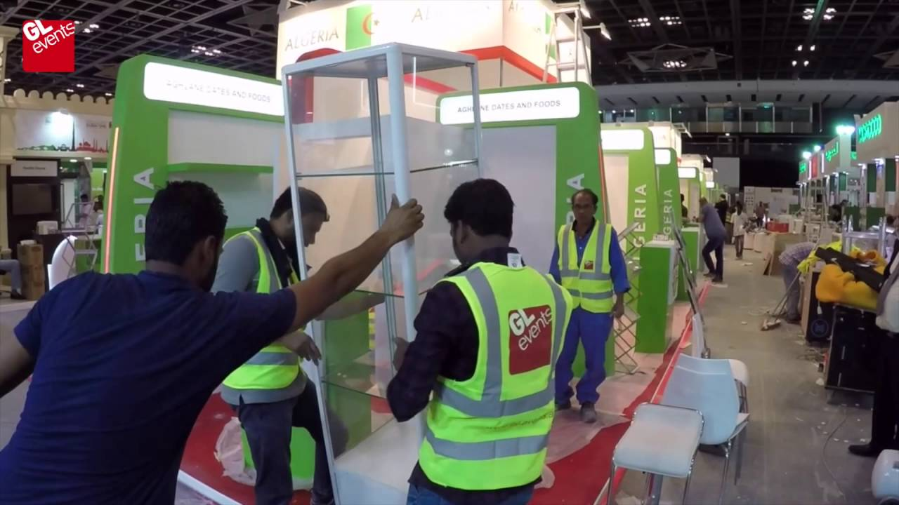 Exhibition Stands And Events : Gl events exhibition stands youtube