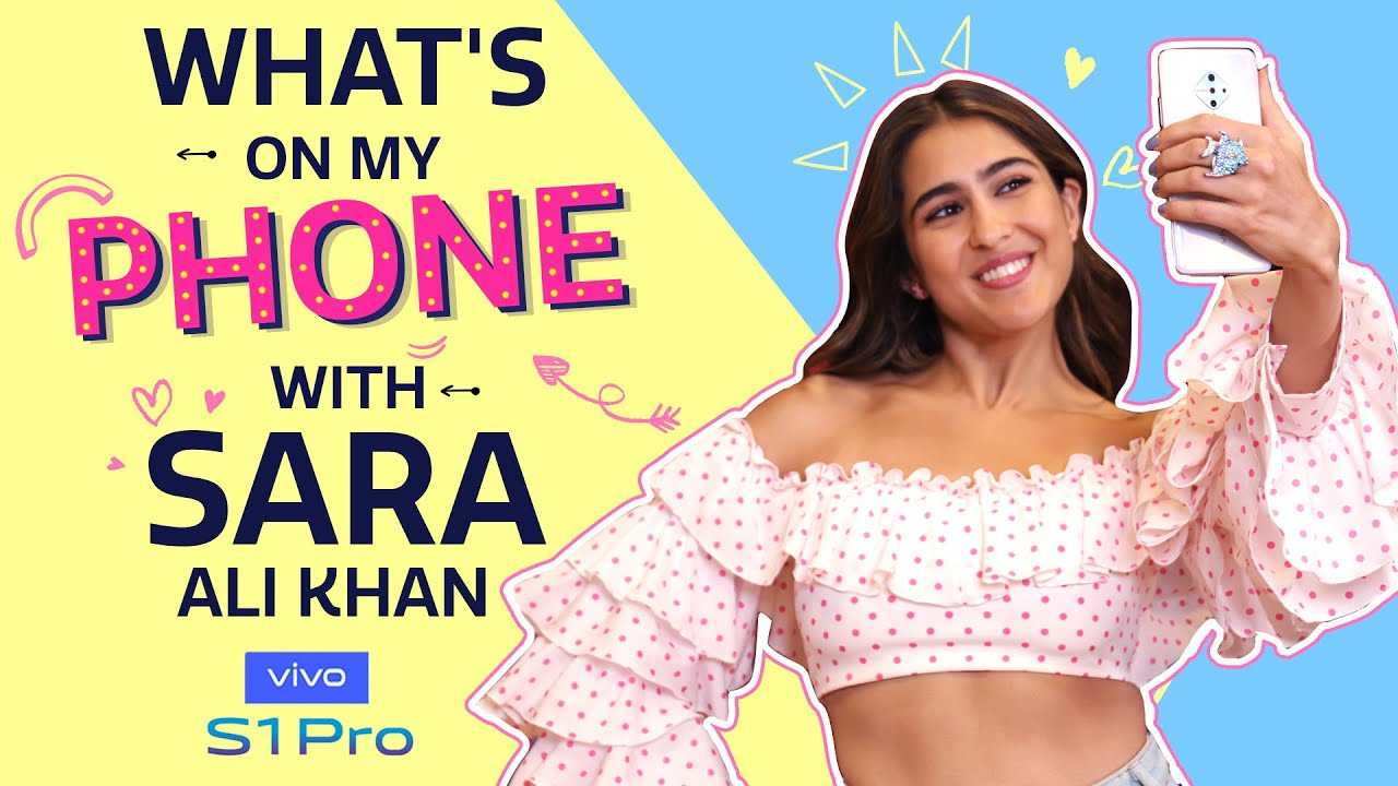 Download What's On My Phone with Sara Ali Khan | Love Aaj Kal | Pinkvilla | Lifestyle | Bollywood