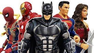 The Avengers vs DC Heroes & Thanos! Go~! Hulk, Spider Man, Iron Man, Captain America