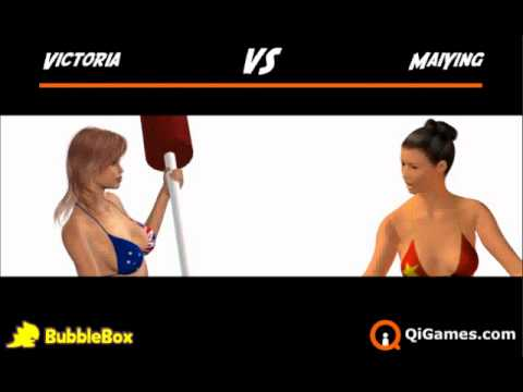 Beach Cat Fight Fighting Game Online