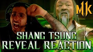 Mortal Kombat 11: Shang Tsung Reveal (REACTION!)