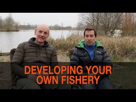 BUILDING YOUR OWN CARP FISHERY PART 1