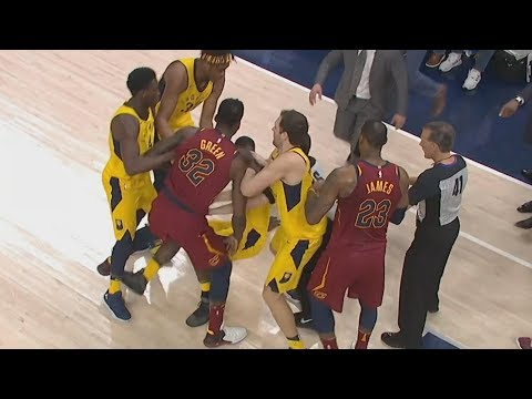 JR Smith Full Court 3! LeSuits Controversial Ending! 2018 NBA Playoffs