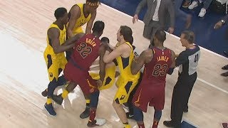 JR Smith Full Court 3 LeSuits Controversial Ending 2018 NBA Playoffs