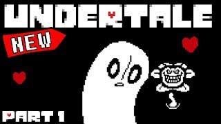A NEW ADVENTURE BEGINS!    Undertale - Part 1    Undertale Gameplay