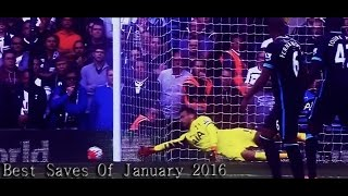 Best Goalkeeper Saves of January 2016 ft, Lloris, De Gea, Ter Stegen, Joe Hart HD