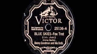 78 RPM: Benny Goodman & his Orchestra - Blue Skies (1935 version)