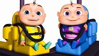 Five Little Babies Playing Pendulum Swing | Zool Babies | Five Little Babies Collection