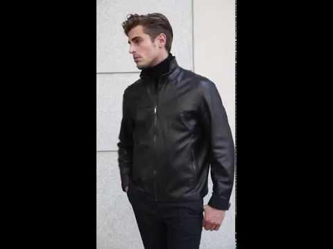 Кожаные зимние осенние весенние куртки мужские с мехом и без из натуральной кожи и зама фото