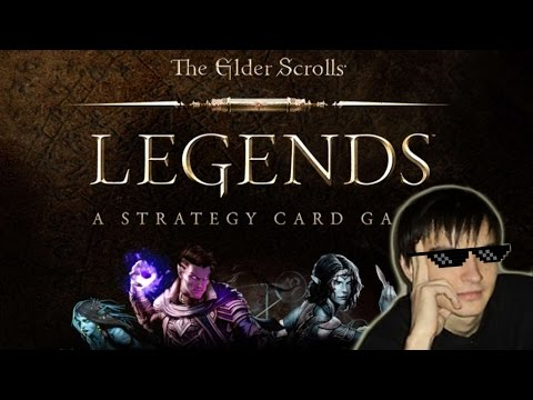 Kolento plays The Elder Scroll: Legends