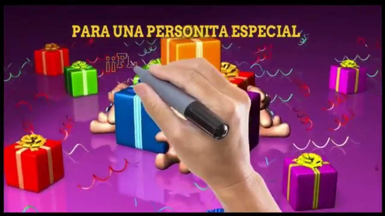 DEDICATORIAS DE CUMPLEA u00d1OS PARA MI HERMANA ,incondicional felicitaciones de cumple años YouTube