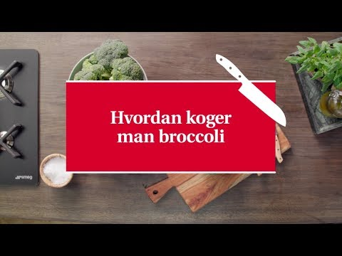 hvor lang tid skal broccoli koge