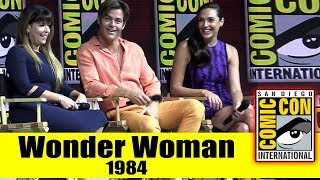 WONDER WOMAN 1984 | Comic Con 2018 Full Panel (Gal Gadot, Chris Pine, Patty Jenkins)