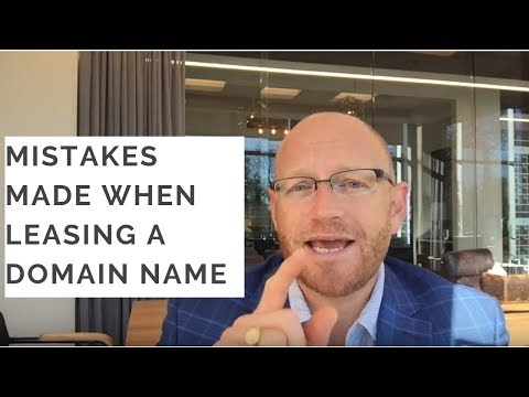 How To Lease A Domain Name And What Not To Do.