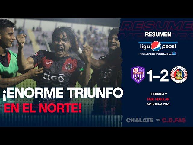 Victoria sufrida en el norte | Chalatenango 1-2 FAS | Jornada 9 | Apertura 2021