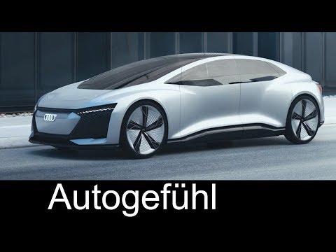 Audi Aicon Exterior/Interior Preview - IAA 2017 - Autogefühl