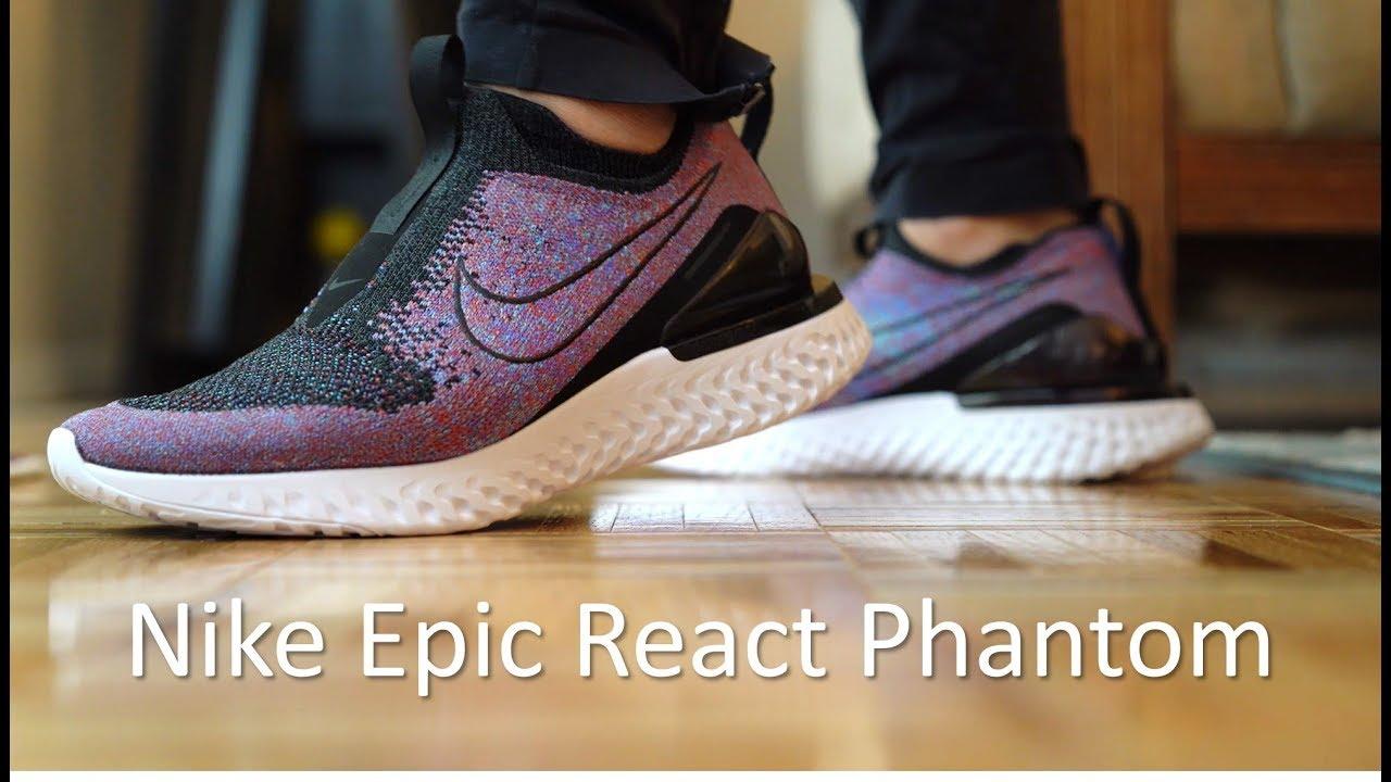 Nike Epic React Phantom - Review/On
