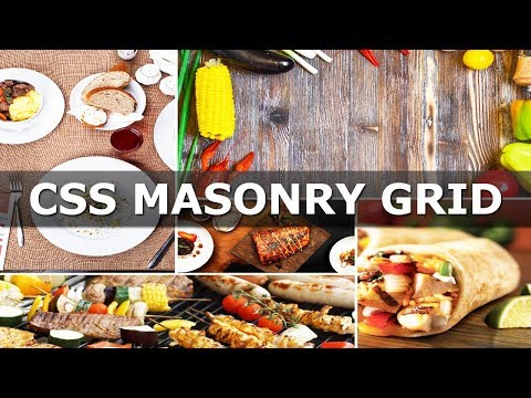 CSS Masonry Grid for Image Gallery - CSS Grid thumbnail