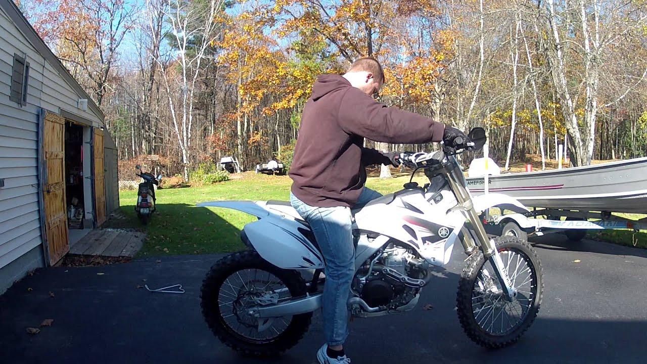 2009 Yamaha YZ450F Special Edition - YouTube