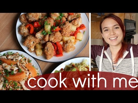 Cook with Me: Chinese Takeout (Lazy Vegan Recipes)