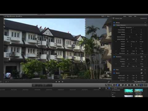 FCP X: removing an unwanted object in shot using the free version of SliceX