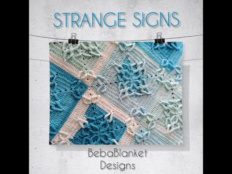 Crochet pattern Strange Signs