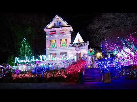 Bruce, John and Janine - North Portland Victorian Mansion Wins The Great Christmas Light Fight