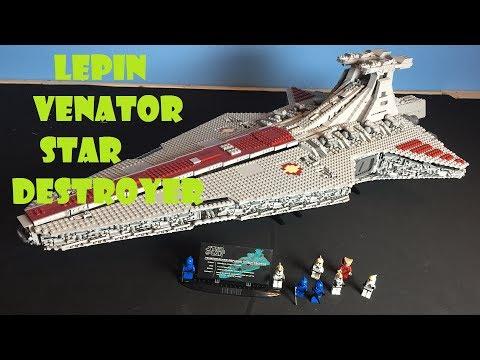HUGE Lepin UCS Venator Star Destroyer!