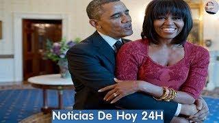 Ultimas noticias hoy : Barack y Michelle Obama firmaron acuerdo con Netflix