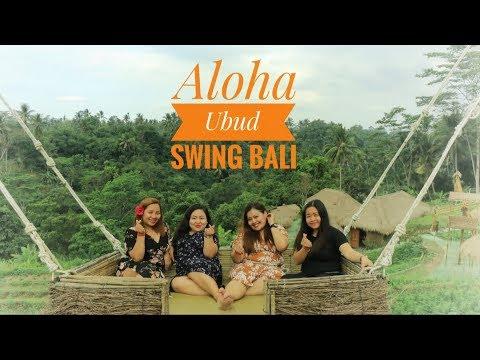 Aloha Ubud Swing Bali And Rattan Bag Hunting