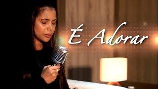 É Adorar - Amanda Wanessa (Voz e Piano)