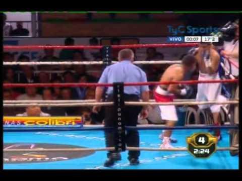 Carlos ORTEGA vs Carlos FARIAS - Full Fight - Pelea Completa