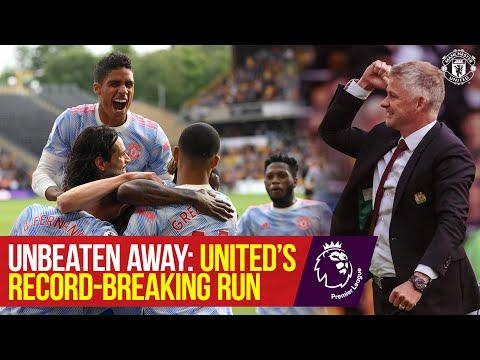 Unbeaten Manchester United record |  Premier league