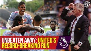 Manchester United's Record-Breaking Unbeaten Away Run