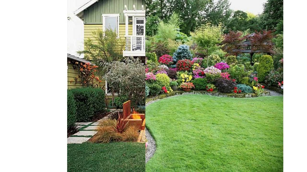 Small garden makeover ideas - YouTube on Small Backyard Landscaping  id=89319