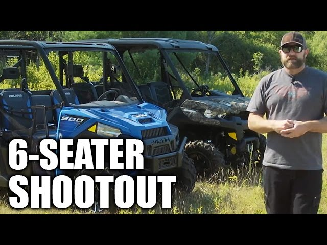 2017 New ATVs and UTVs