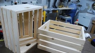 How To Make Wood Crates (woodlogger.com)