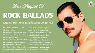 Rock Ballads 80s 90s Playlist | Greatest Hits Rock Ballads Songs Of 80s 90s